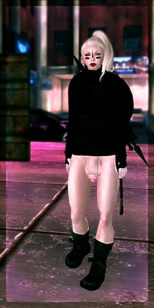 On the wrong battle - Dickgirls, Futa, Blacklist, Second Life