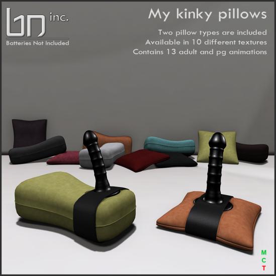 BN inc. - My kinky pillows