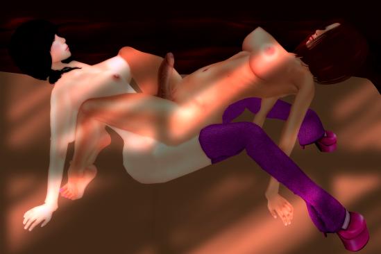 Dildo Dress 2 - Dickgirls, Futa, Blacklist, Second Life