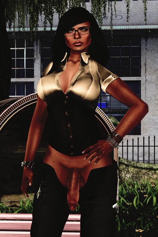 The Bench - Dickgirls, Futa, Blacklist, Second Life