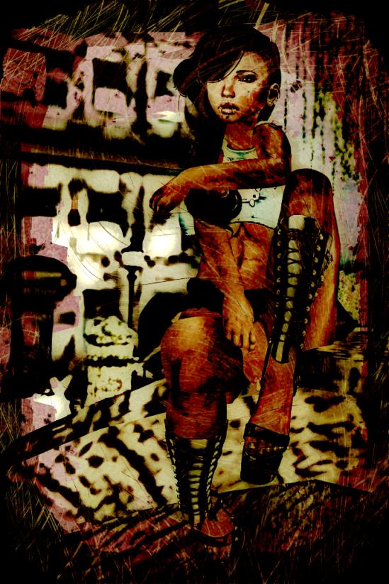 Grunged Dickgirl - Dickgirls, Futa, Blacklist, Second Life