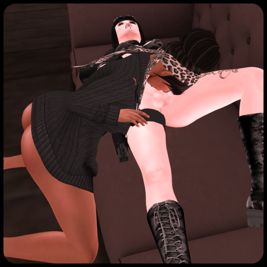 Sucking it all 1 - Dickgirls Art, Futanari, Blacklist, Second Life
