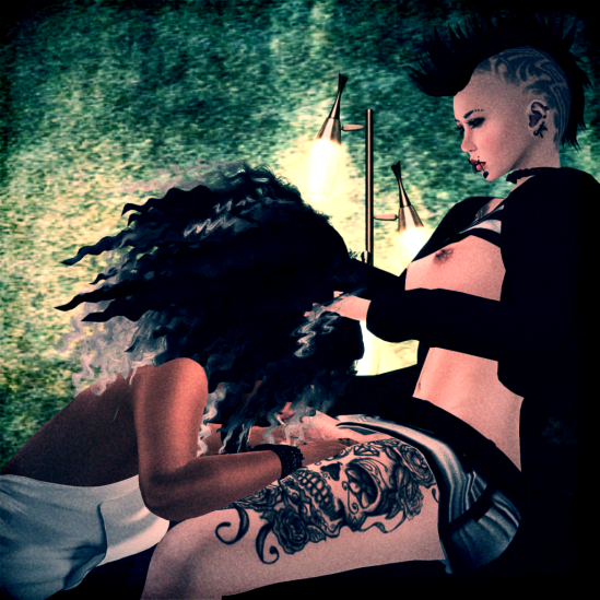 Big Hair - Dickgirls Art, Futanari, Blacklist, Second Life