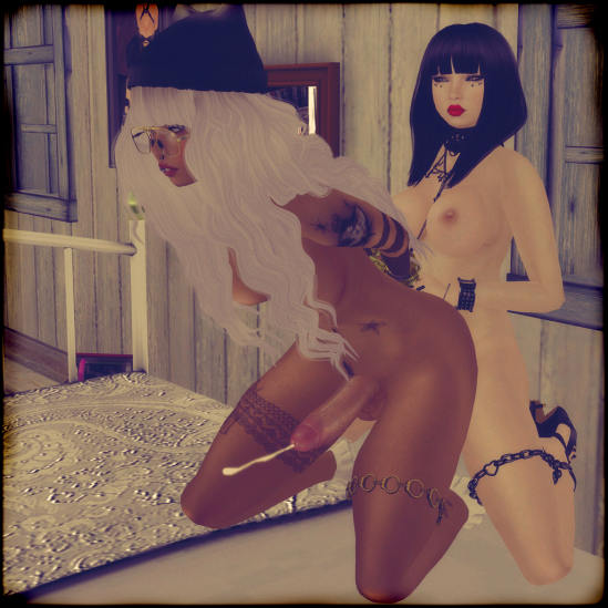 Boner Morning 2 - Dickgirls Art, Futanari, Blacklist, Second Life