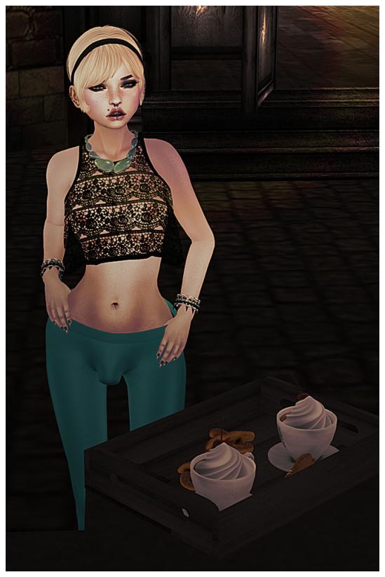 Sweet cream - Dickgirls Art, Futanari, Blacklist, Second Life, Daxtardly