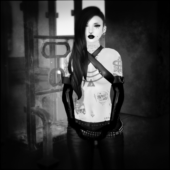 The Latex Soiree 004 - Dickgirls Art, Futanari, Blacklist, Second Life